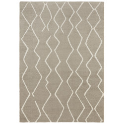 Kusový koberec Glow 103660 Beige/Cream z kolekce Elle