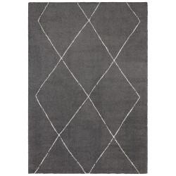 Kusový koberec Glow 103662 Dark Grey/Cream z kolekce Elle