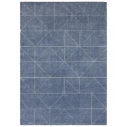 Kusový koberec Maniac 103645 Jeansblue/Silver z kolekce Elle