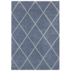 Kusový koberec Maniac 103652 Jeansblue/Silver z kolekce Elle