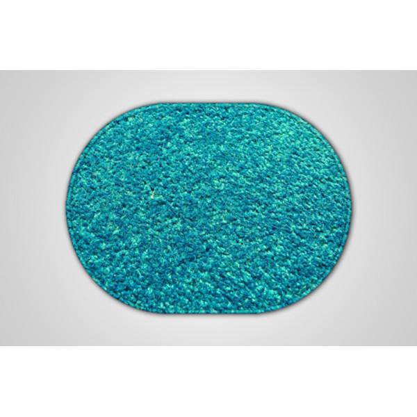 Vopi koberce Kusový petrolejový koberec Eton ovál, kusových koberců 50x80 cm% Zelená - Vrácen