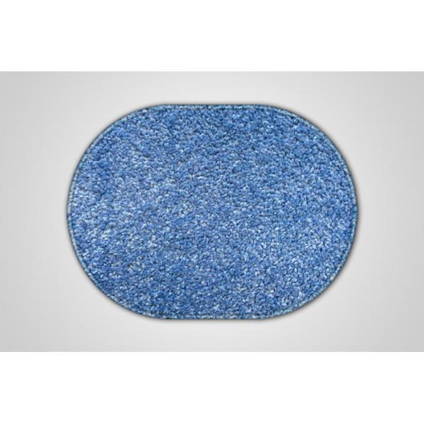 Vopi koberce Kusový světle modrý koberec Eton ovál, koberců 57x120 cm Modrá - Vrácení do 1 roku ZDARMA