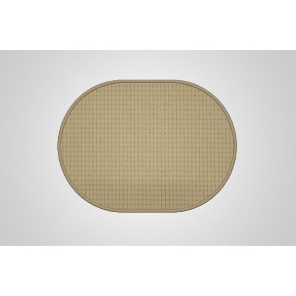 Vopi koberce Kusový koberec Birmingham béžový ovál, kusových koberců 50x80 cm% Béžová - Vr