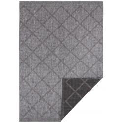 Kusový koberec Twin Supreme 103757 Black/Anthracite
