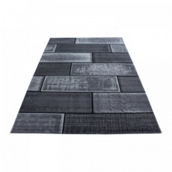 Kusový koberec Plus 8007 black