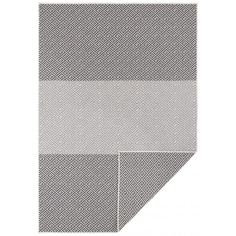 Kusový koberec Twin Supreme 103769 Black/Anthracite