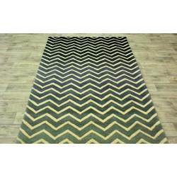 Ručně vyrobený kusový koberec Indie 45