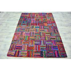 Ručně tkaný kusový koberec Indie 1