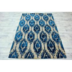 Ručně vyrobený kusový koberec Indie 25