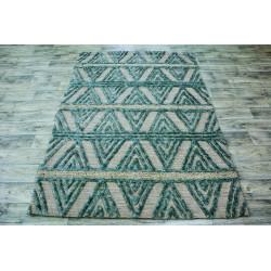 Ručně vyrobený kusový koberec Indie 14