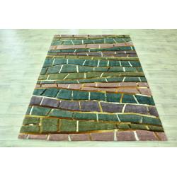 Ručně tkaný kusový koberec Indie 23