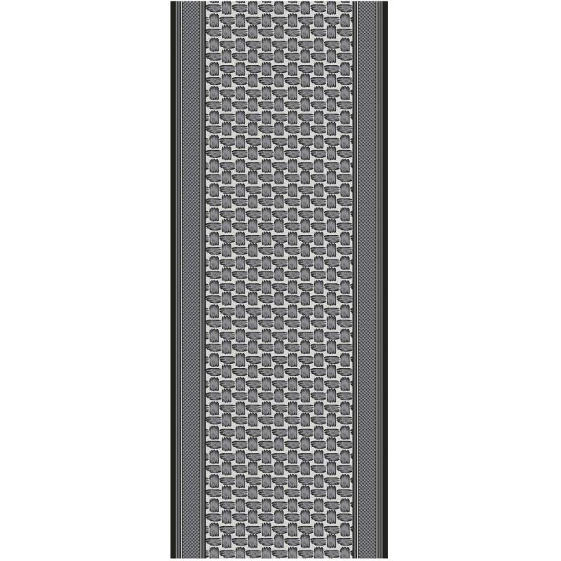 Protiskluzový běhoun na míru Zel 1002 Silver (Grey)