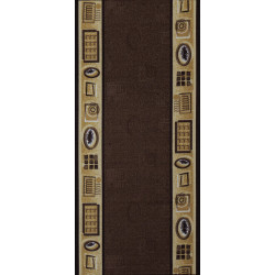 Protiskluzový běhoun na míru Zel 1004 Brown