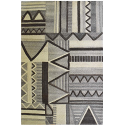 Ručně všívaný kusový koberec Geometric Dream