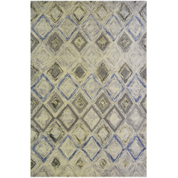 Ručně všívaný kusový koberec Indian Square