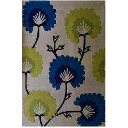 Ručně všívaný kusový koberec Magic Flower