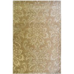 Ručně vyrobený kusový koberec Simple Beige