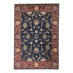 Ručně vyrobený kusový koberec Blue Tradition