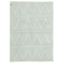 Ručně tkaný kusový koberec Hippy Mint