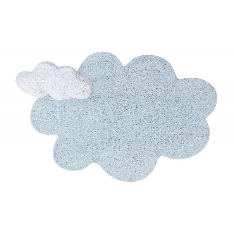 Bio koberec kusový, ručně tkaný Puffy Dream