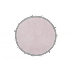 Ručně tkaný kusový koberec Bubbly Soft Pink