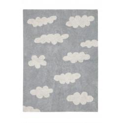 Ručně tkaný kusový koberec Clouds Grey