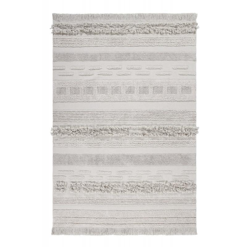 Bio koberec kusový, ručně tkaný Air Natural