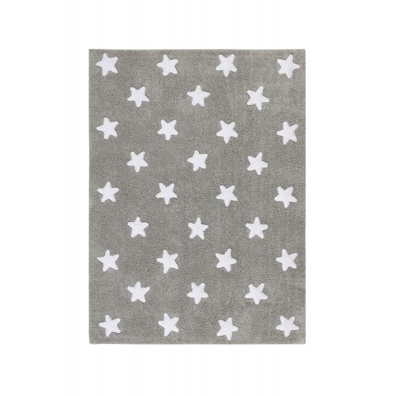 Ručně tkaný kusový koberec Stars Grey-White