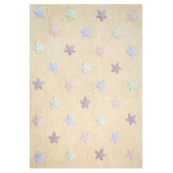 Ručně tkaný kusový koberec Tricolor Stars Vanilla