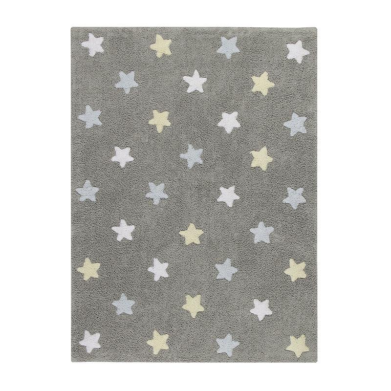 Ručně tkaný kusový koberec Tricolor Stars Grey-Blue