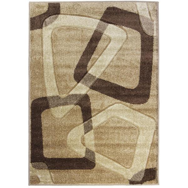 Medipa (Merinos) koberce Kusový koberec Portland 561 AY3 Y, 120x170 cm% Hnědá, Béžová - Vrácení do 1 roku ZDARMA vč. dopravy + možnost zaslání vzorku zdarma