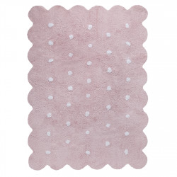Ručně tkaný kusový koberec Biscuit Pink