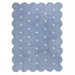 Ručně tkaný kusový koberec Biscuit Blue