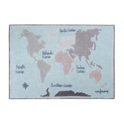 Ručně tkaný kusový koberec Vintage Map
