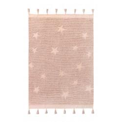 Ručně tkaný kusový koberec Hippy Stars Vintage Nude