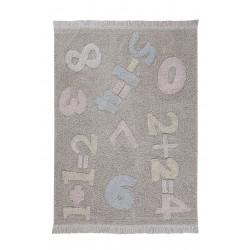 Ručně tkaný kusový koberec Baby Numbers