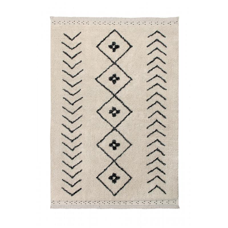 Bio koberec kusový, ručně tkaný Bereber Rhombs