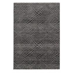 Kusový koberec Carpi 151041 Stripes Anthracite