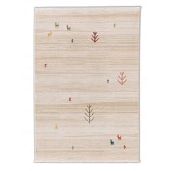 Kusový koberec Trani 193000 Gabbeh Cream