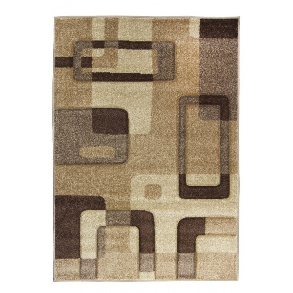 Medipa (Merinos) koberce Kusový koberec Portland 1597 AY3 D, kusových koberců 67x120 cm% Hnědá, Béžová - Vrácení do 1 roku ZDARMA vč. dopravy + možnost zaslání vzorku zdarma