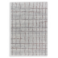Kusový koberec Savona 193017 Grid Aubergine