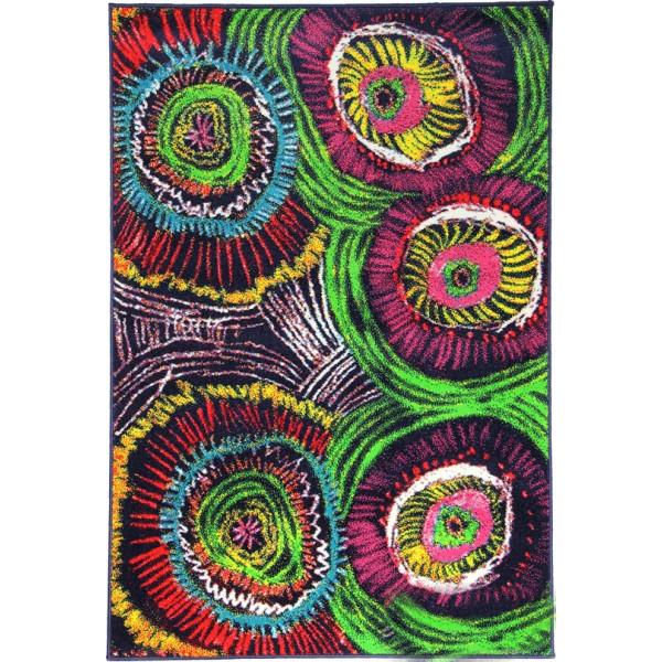 Sintelon koberce Kusový koberec City 07 PAP, koberců 80x150 cm Zelená - Vrácení do 1 roku ZDARMA