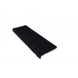 Nášlapy na schody černé Color Shaggy obdélník