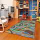 Dětský kusový koberec silnice Play Time