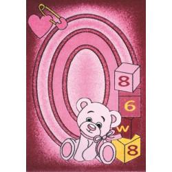 Kusový koberec Toys pink C 126