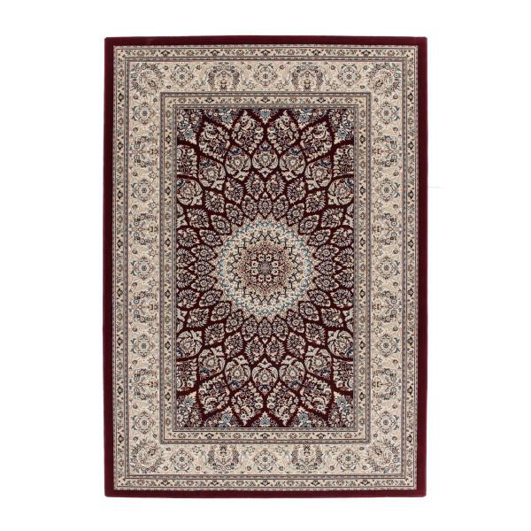 Lalee koberce Kusový koberec Mashad MAS 130 red, koberců 200x290 cm Béžová - Vrácení do 1 roku ZDARMA
