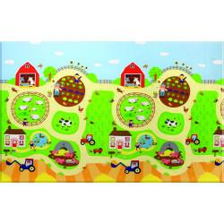 Oboustranný protiskluzový koberec Farma