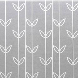 Oboustranný protiskluzový koberec Okvětní šedé lístky