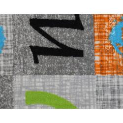 Metrážový koberec Alphabet 129