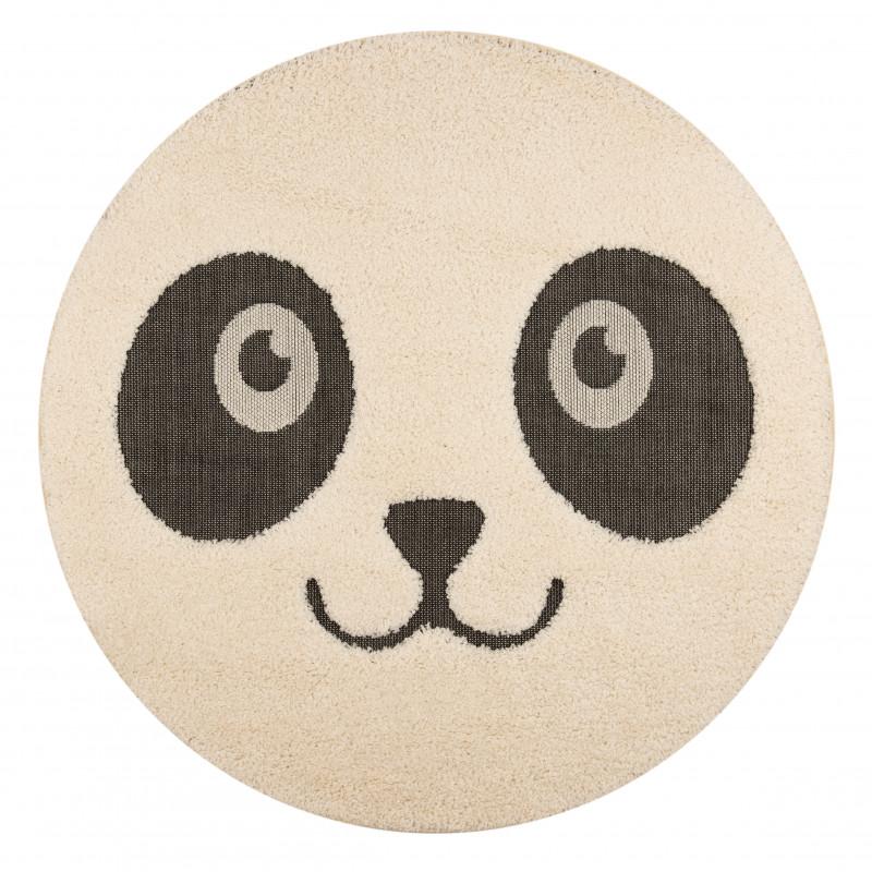 Dětský kusový koberec Vini 103921 Cream Black